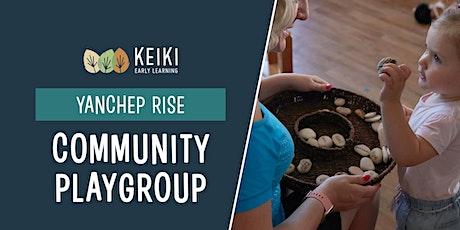 Yanchep Rise Community Playgroup tickets