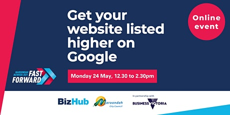 Get your website listed higher on Google tickets