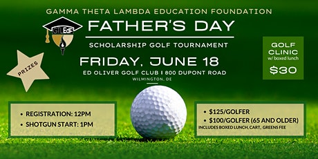 GTLEdF 2021 Father's Day Scholarship Golf Tournament tickets