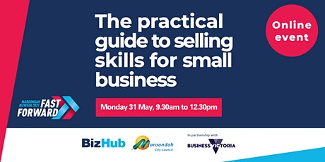 The practical guide to selling skills for small business success tickets