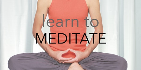 Learn to Meditate 23 May tickets