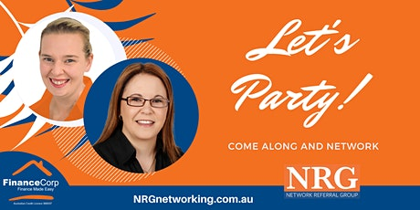 Lets Party -  NRG Networking Morning Tea tickets