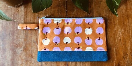 KIDS INTERMEDIATE SEWING MACHINE WORKSHOP:  PENCIL CASE & ZIP ( 8 - 14 YRS) tickets