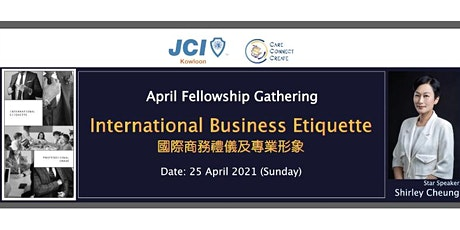 International Business Etiquette tickets
