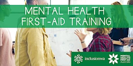 Mental Health First-Aid Training tickets