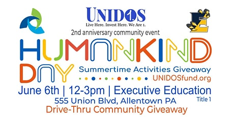 HUMANKIND DAY: Drive-Thru Summertime Toy Giveaway tickets