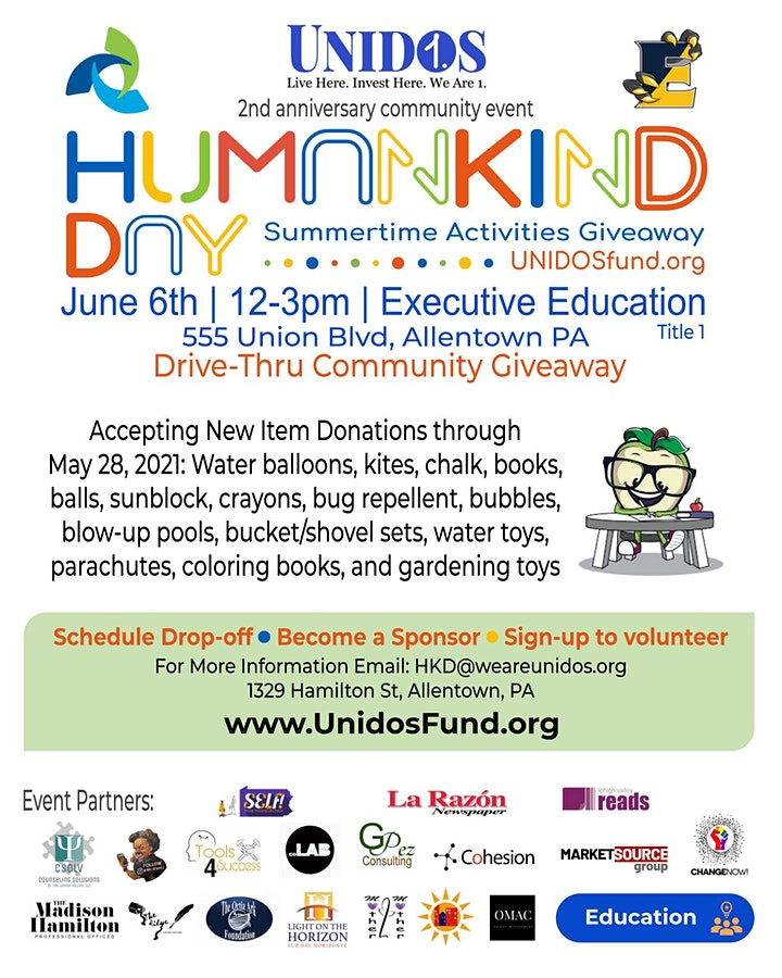 HUMANKIND DAY: Drive-Thru Summertime Toy Giveaway image