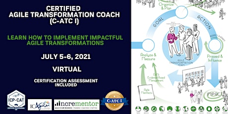 Incrementor   Certified Agile Transformation Coach I (C-ATC I) tickets