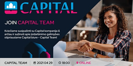 JOIN CAPITAL TEAM tickets