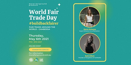 World Fair Trade Day 2021: Fair Trade Around The World - Cambodia tickets