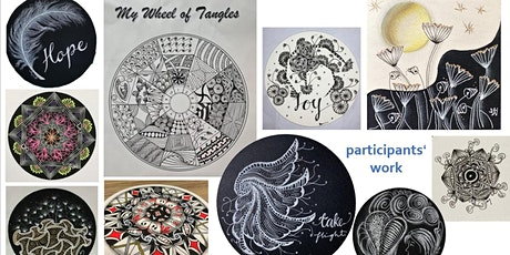 Zentangle Intermediate Course starts  June15  (8 sessions) tickets