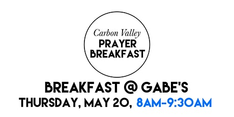 4th Annual Carbon Valley Prayer Breakfast tickets
