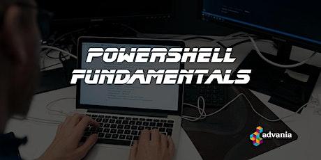 ONLINE -PowerShell Fundamentals - 4 halvdagars kurs -  9 000 SEK tickets