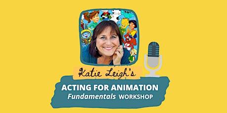 Animation Acting Fundamentals tickets