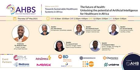 Unlocking the potential of AI for Healthcare Systems in Africa - AHBS 2021 tickets