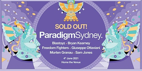 Paradigm Sydney tickets