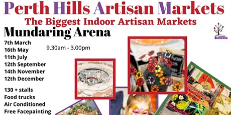 Perth Hills Artisan Market 2021 tickets