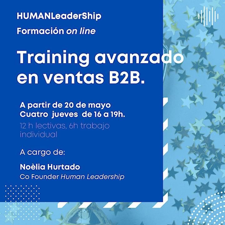 Imagen de Training avanzado en ventas B2B