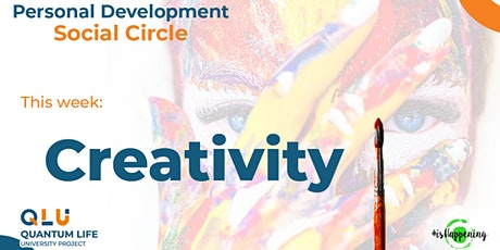 Personal Development ☯ Social Circle — How to be (more) Creative tickets