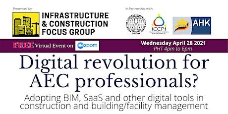 Digital Revolution for AEC professionals? tickets