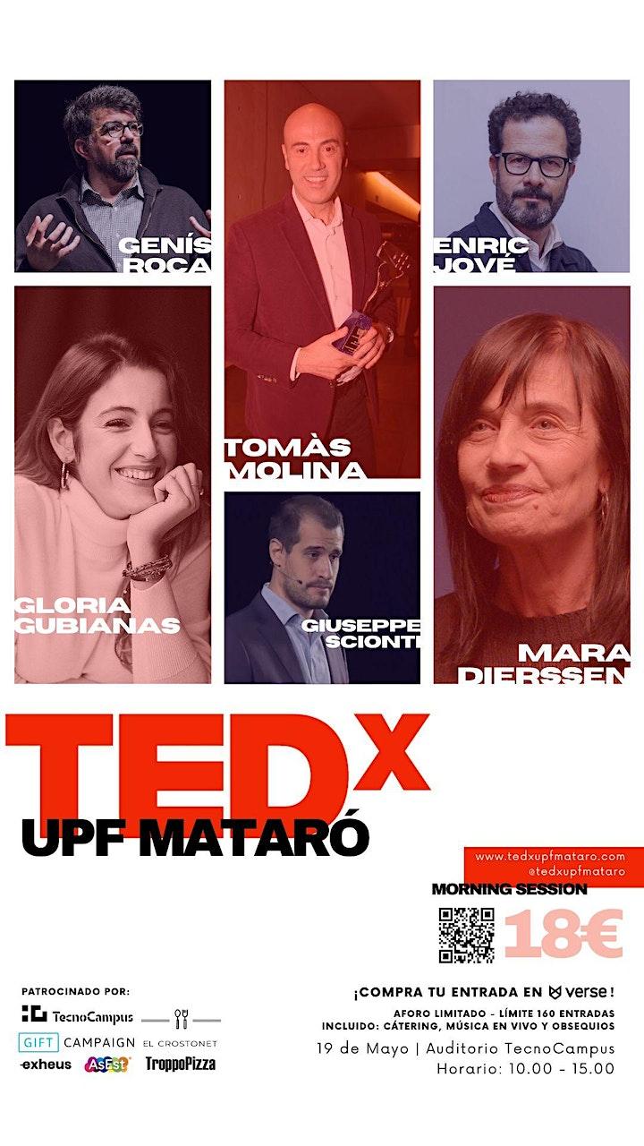 Imagen de TEDxUPFMataró 2021: Revolucionarios (Morning Session)