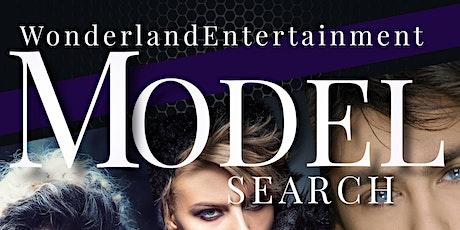 Wonderland Entertainment Venue:  MODEL SEARCH tickets