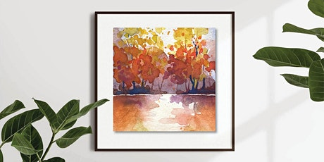 Paint Autumn Trees in Watercolour tickets