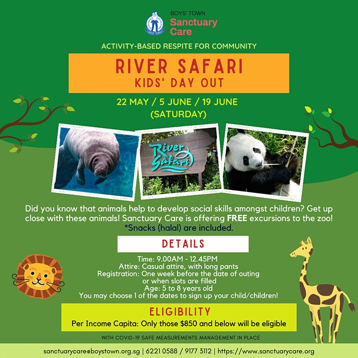 River Safari Outing image