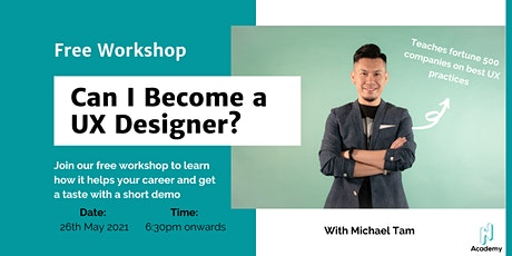 Can I Become a UX Designer? tickets