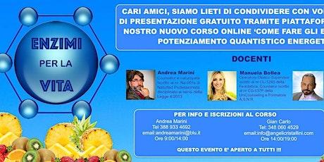 Corso Online Enzimi per La Vita biglietti