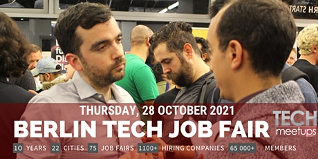 Berlin Tech Job Fair By Techmeetups billets