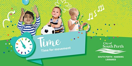 Time for Movement - South Perth Library tickets