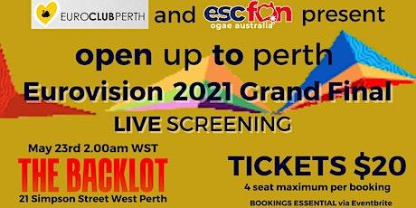 EuroClub x OGAE Australia Eurovision 2021 Grand Final Live Screening tickets