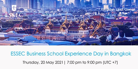 ESSEC Business School | Experience Day in Bangkok! tickets