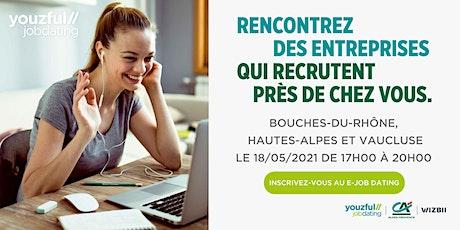E-Job Dating Bouches-du-Rhône, Hautes-Alpes & Vaucluse billets