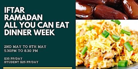 IFTAAR ALL YOU CAN EAT DINNER tickets