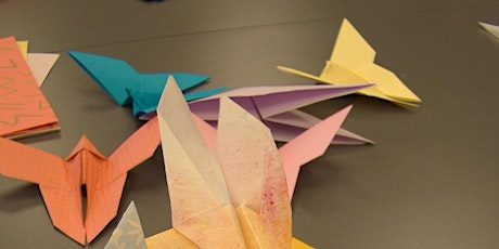 Origami Workshop for Beginners with artist Tunde Toth: dlr LexIcon Gallery tickets