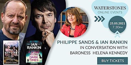 Philippe Sands & Ian Rankin – in conversation with Baroness Helena Kennedy tickets