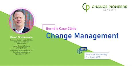 Bernd's Case Clinic: Change Management tickets