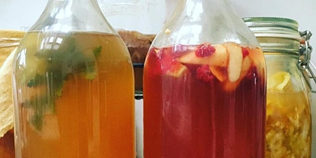 LIVE Online Kombucha Workshop tickets