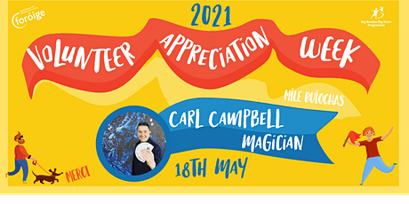 Foróige's Volunteer Appreciation Week- celebrating magical volunteers tickets