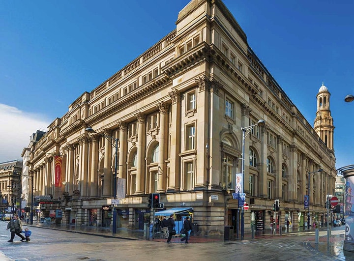 Glories of Manchester Architecture. Walking tour with Riba judge Ed Glinert image
