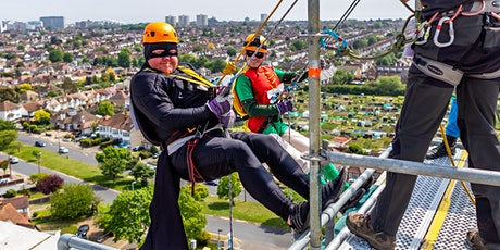 Tackle the Tower Abseil tickets
