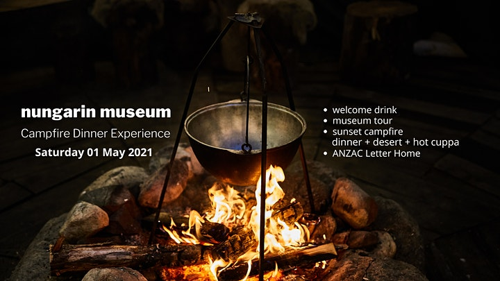 Nungarin Museum Campfire Dinner Experience image