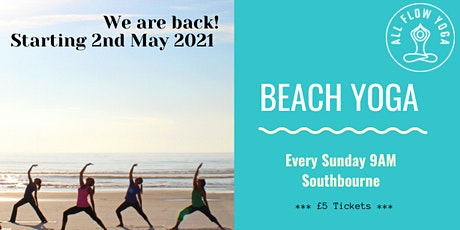 Beach Yoga Bournemouth tickets