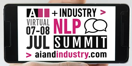 The AI + Industry Virtual NLP Summit tickets