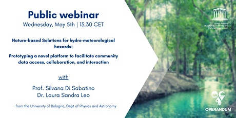 Nature-based Solutions for hydro-meteorological hazards tickets