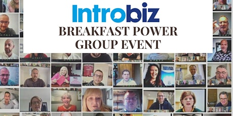 Online Breakfast power group event tickets