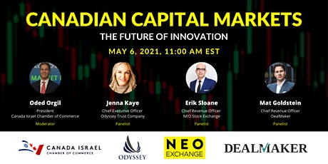 Canadian Capital Markets: The Future of Innovation tickets