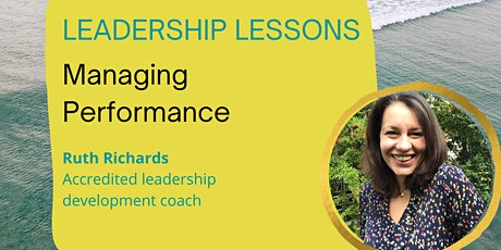Leadership lessons: Managing performance entradas